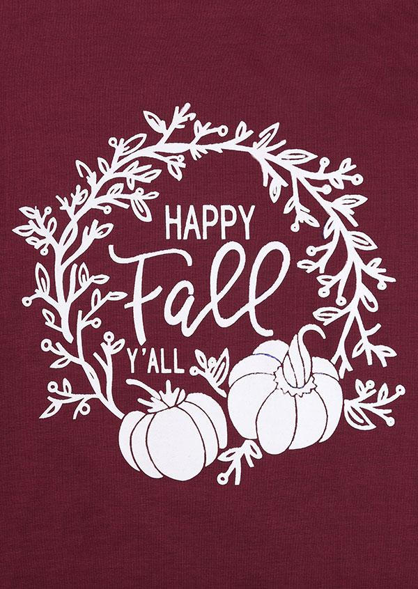 halloween happy fall yall pumpkin tshirt fairyseason