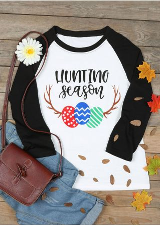 Hunting Season O-Neck Baseball T-Shirt