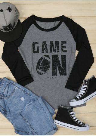 Game On Football Baseball T-Shirt