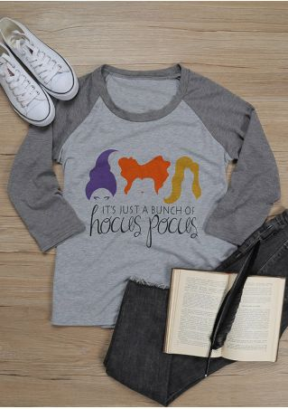 Halloween Hocus Pocus Sanderson Sisters Baseball T-Shirt