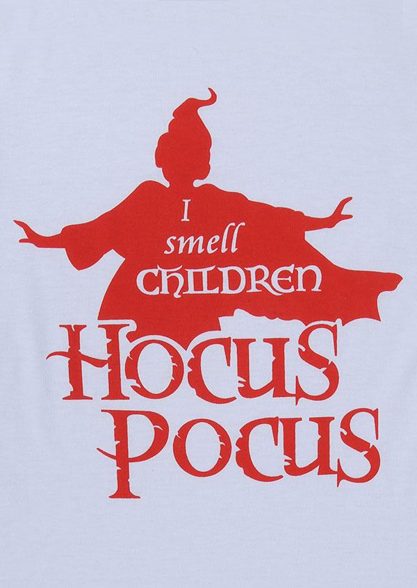 halloween i smell children hocus pocus baseball tshirt
