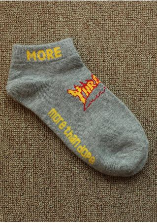 More Than Dope Short Socks