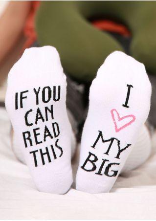 I Love My Big Socks