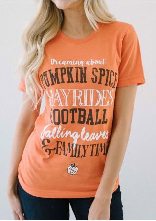 Halloween Dreaming About Pumpkin Spice T-Shirt