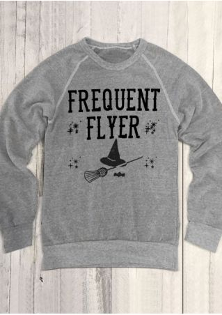 Halloween Frequent Flyer O-Neck Sweatshirt