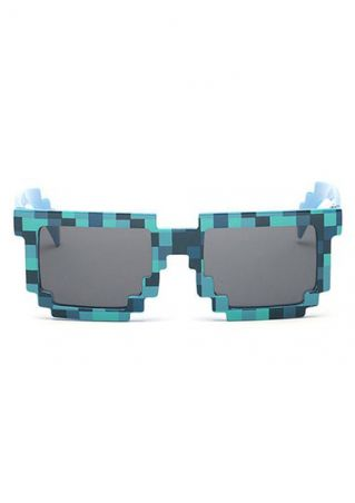 Mosaic Design Fashion Square Sunglasses