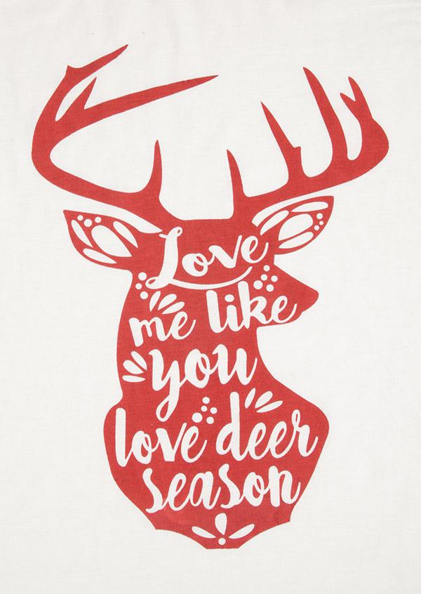 Download Plus Size Love Me Like You Love Deer Season Baseball T ...