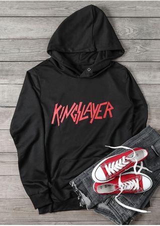 Kingslayer Pocket Long Sleeve Hoodie