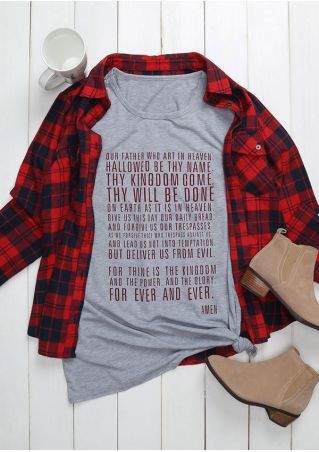 Lord's Prayer For Ever And Ever T-Shirt