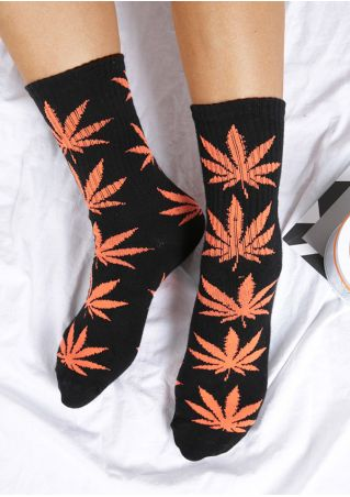 Leaf Comfortable Socks