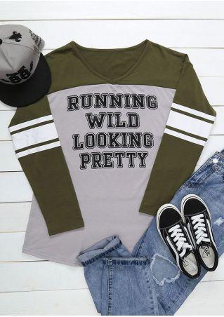 Plus Size Running Wild Looking Pretty T-Shirt