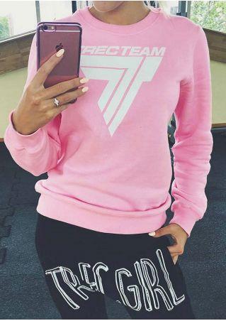 Trec Team Printed O-Neck Sweatshirt