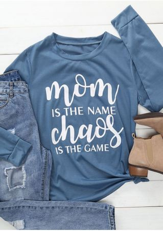 Mom Is The Name Chaos Is The Game T-Shirt