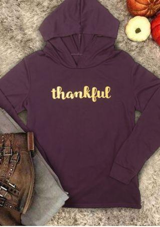 Thankful Long Sleeve Hoodie