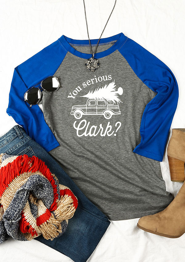 Christmas You Serious Clark Baseball T Shirt Fairyseason