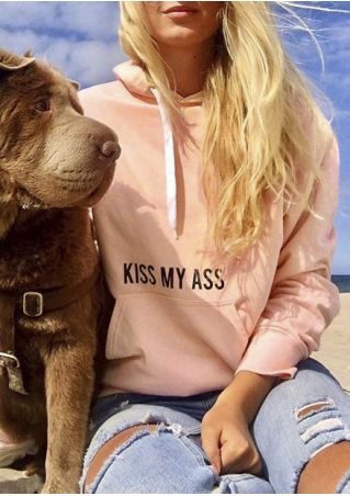 Kiss My Ass Pocket Hoodie