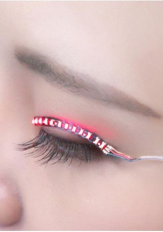 LED Waterproof Cosplay False Eyelashes