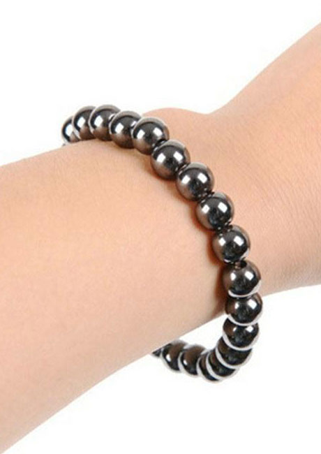 Image of Unisex Blackstone Magnetic Health Care Slimming Bracelet