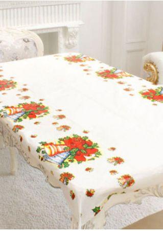 Christmas Disposable Tablecloth