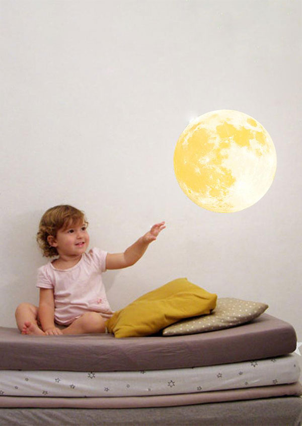 Image of Moon Luminous Removable Wall Sticker