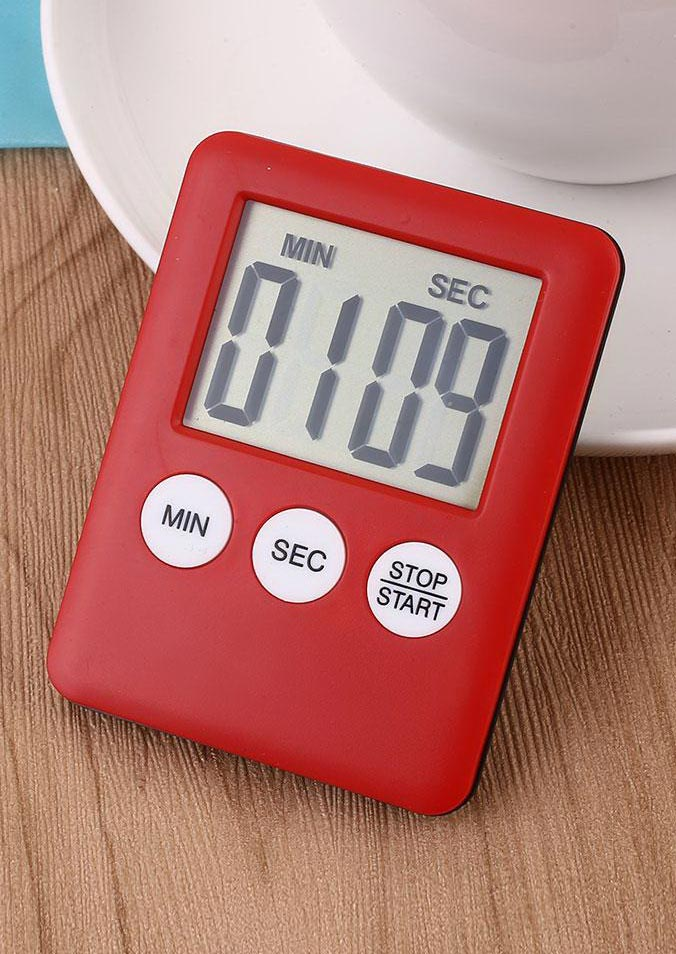 Image of Digital LCD Display Kitchen Time Counter Cooking Alarm Run Timer