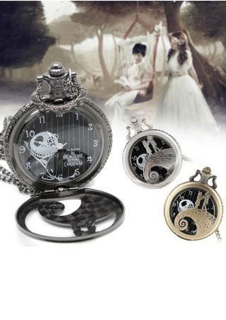 Christmas Retro Pocket Watch
