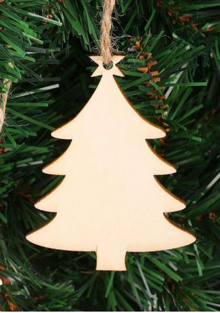 10Pcs Christmas Tree Pendants