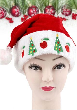 Merry Christmas Splicing Embroidery Hat