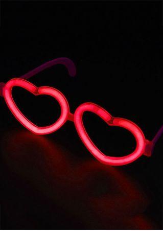 Christmas Luminous Heart-Shaped Sunglasses