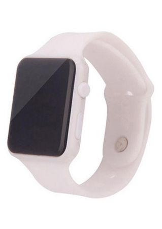 Electronic LED Touch Screen Silicone Watch