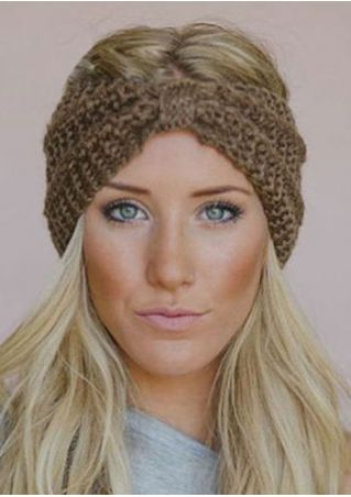 Solid Knitted Headband