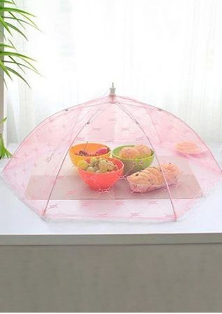 Solid Lace See-Through Food Cover