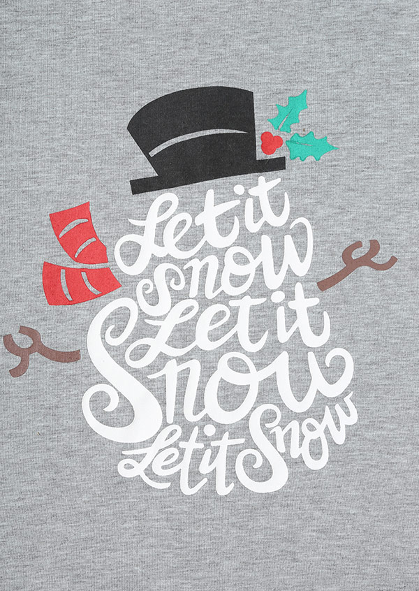 Christmas Let It Snow O Neck Baseball T Shirt Fairyseason
