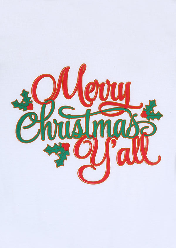 merry christmas y all baseball t shirt fairyseason