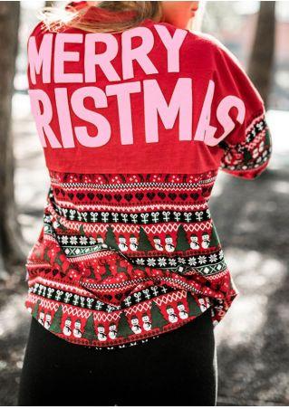 Merry Christmas Snowman Batwing Sleeve Sweatshirt