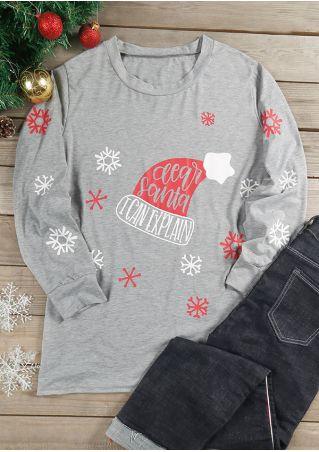Christmas Plus Size Dear Santa I Can Explain T-Shirt