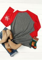 d450a1153 Merry & Bright O-Neck Baseball T-Shirt - Fairyseason