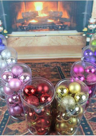 24Pcs/Set Christmas Tree Decorative Ball