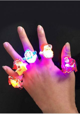 Cartoon Children's Glowing LED Luminous Rings