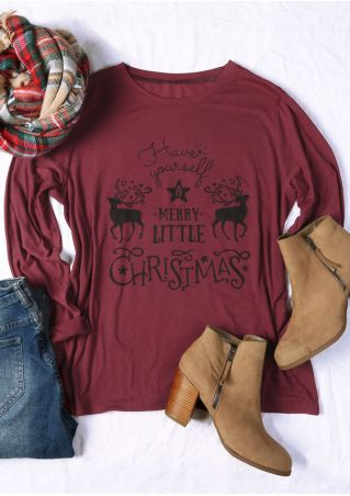 Plus Size Have Yourself A Merry Little Christmas T-Shirt