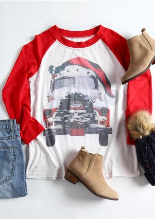 Christmas Long Sleeve Baseball T-Shirt