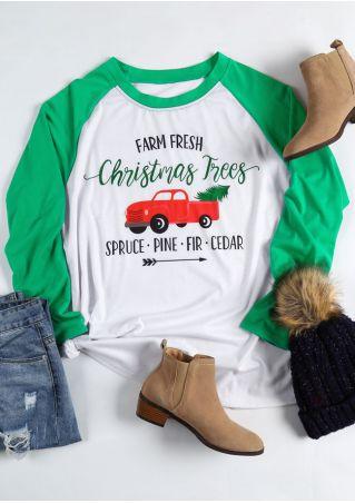 Plus Size Farm Fresh Christmas Trees Baseball T-Shirt