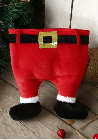 Christmas Santa Pants Shaped Hat