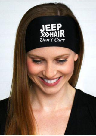 Jeep Hair Don't Care Headband
