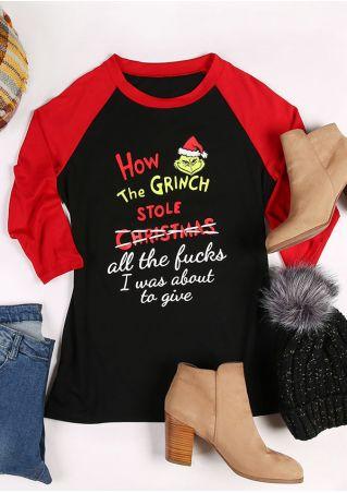 How The Grinch Stole Christmas Baseball T-Shirt