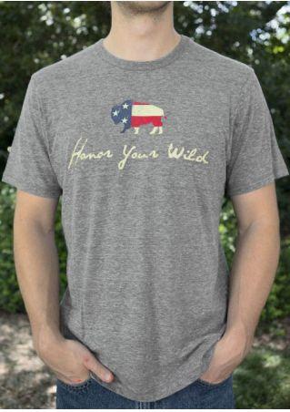 Buffalo Honor Your Wild T-Shirt