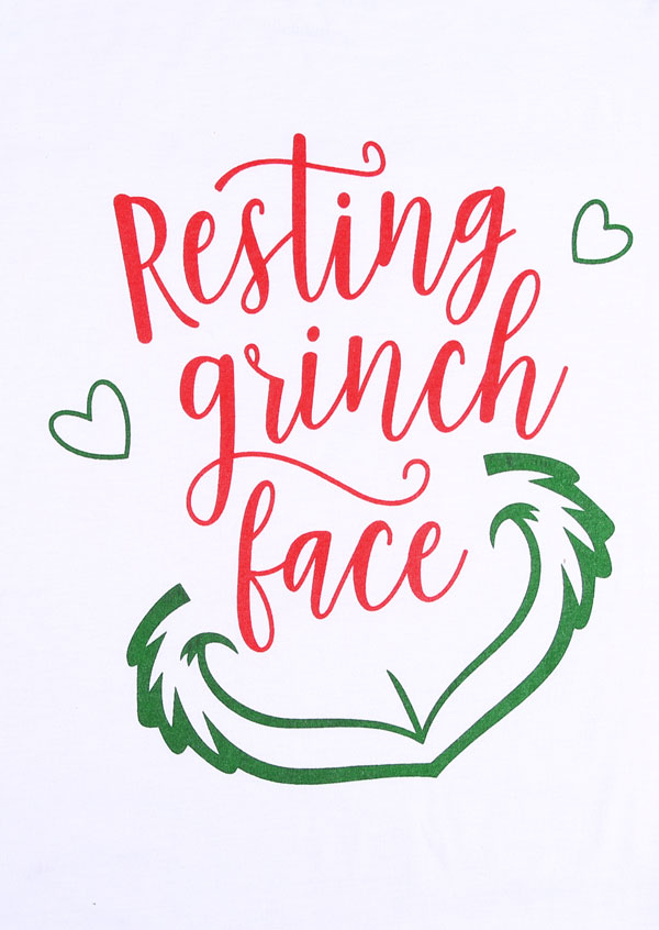 27ff573194059 Christmas Resting Grinch Face Baseball T-Shirt - Fairyseason