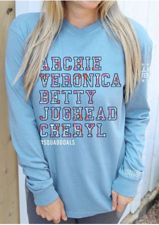 Squad Goals Riverdale Long Sleeve Sweatshirt