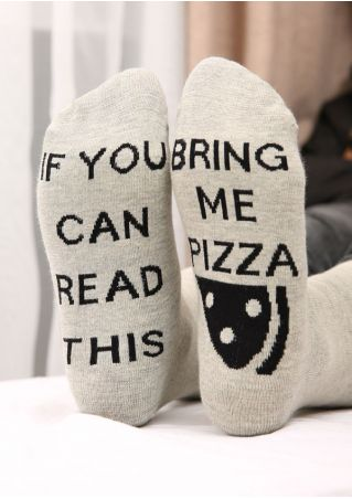 Bring Me Pizza Warm Socks