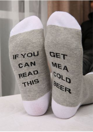 Get Me A Cold Beer Socks